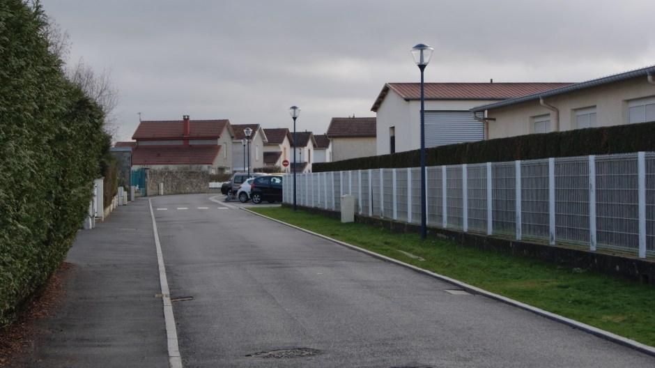 Travaux dans le quartier Jeanne d'Arc à Golbey.