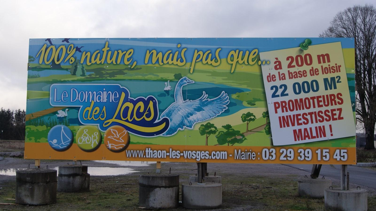 Ne l appelez plus port et plage mais le domaine des lacs - Piscine thaon les vosges ...