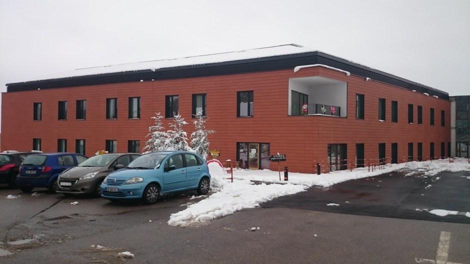 L'hôpital de l'Avison à Bruyères.