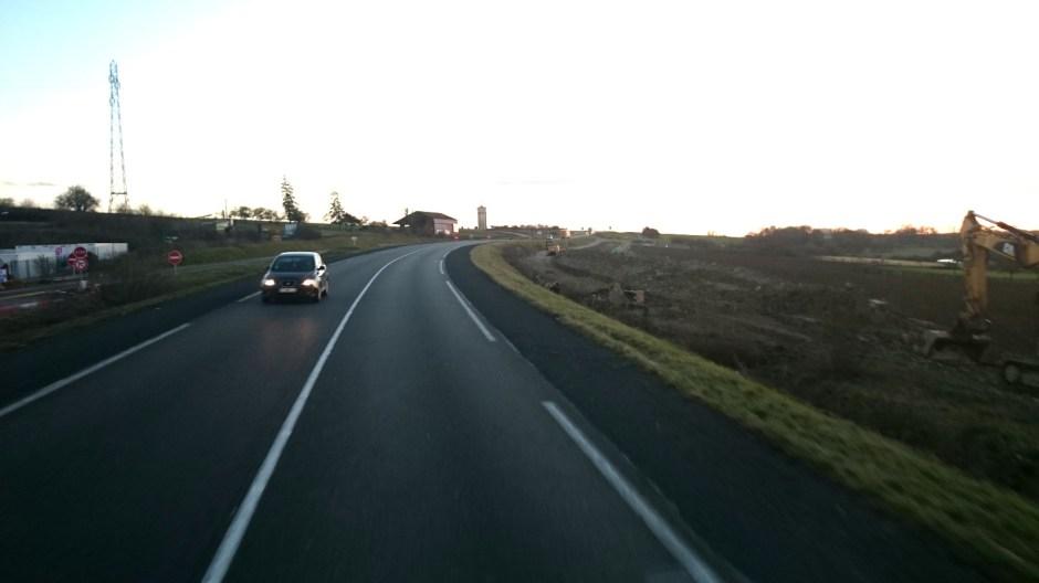 Mise à 2x2 voies de la N4 à Héming.
