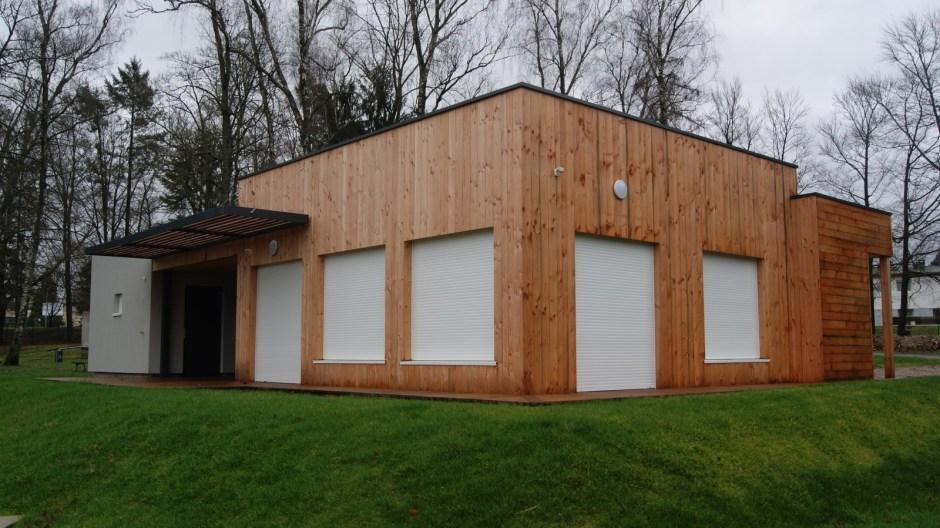 Le nouveau club house d'Epinal.