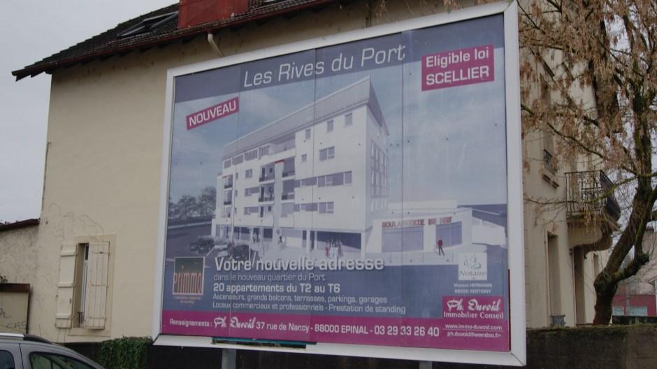 Les rives du port : projet immobilier.