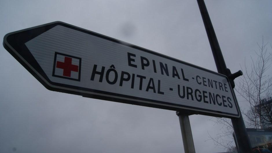 Nouveaux panneaux de signalisation à Epinal.