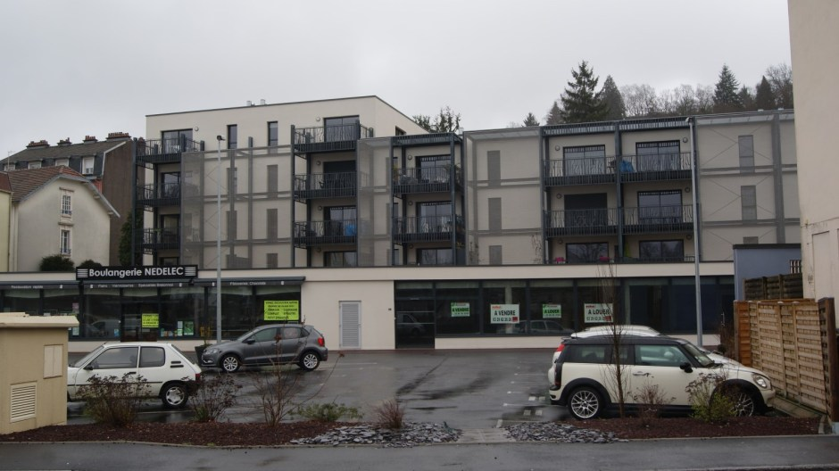 Résidence Les Portes de la Moselle à Epinal.