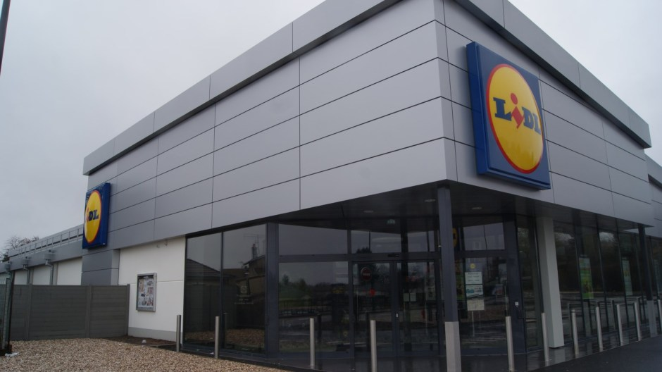 Nouveau supermarché LIDL à Golbey.