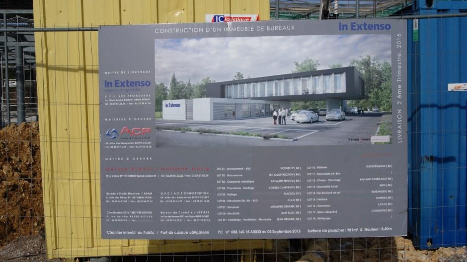 Nouveaux bureaux In Extenso à la Voivre.