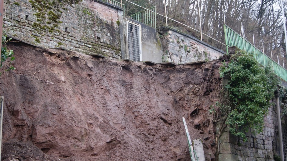 Glissement de terrain à Epinal.