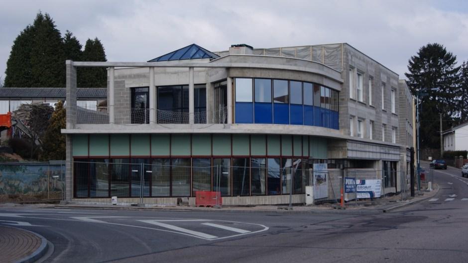 Nouveau immeuble au centre ville de Golbey.