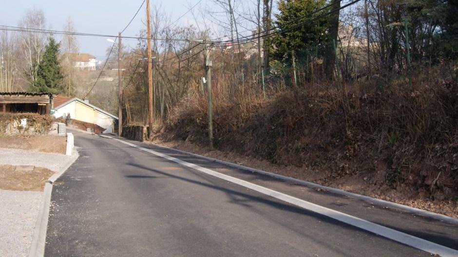La ruelle de Laufromont à Epinal.
