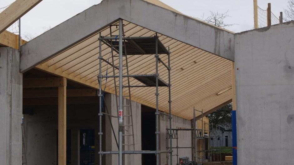 La future crèche de l'agglomération Spinalienne à Golbey.