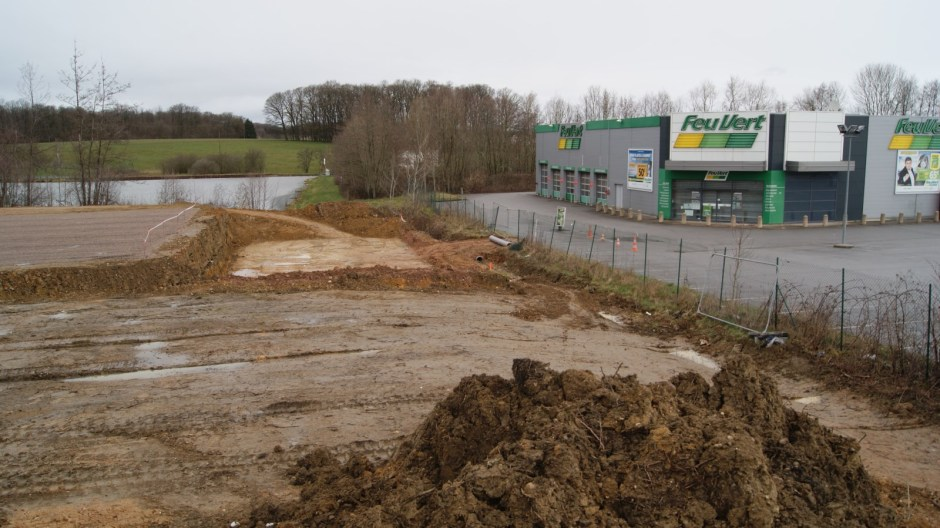 Agrandissement de la zone commerciale de la Pétrolerie à Golbey.