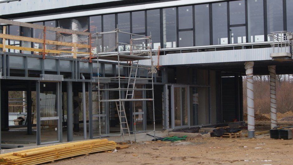Nouveau bâtiment teritaire à La Voivre à Epinal.