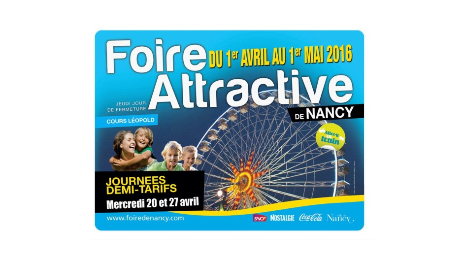 Foire Attractive de Nancy 2016