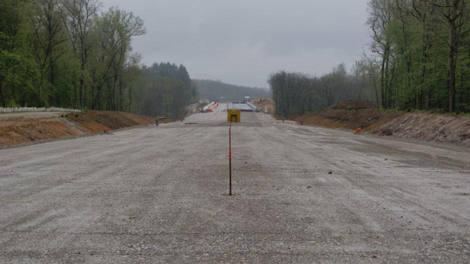 Mise à 2x2 voies de la RN19 entre Lure et Amblans.
