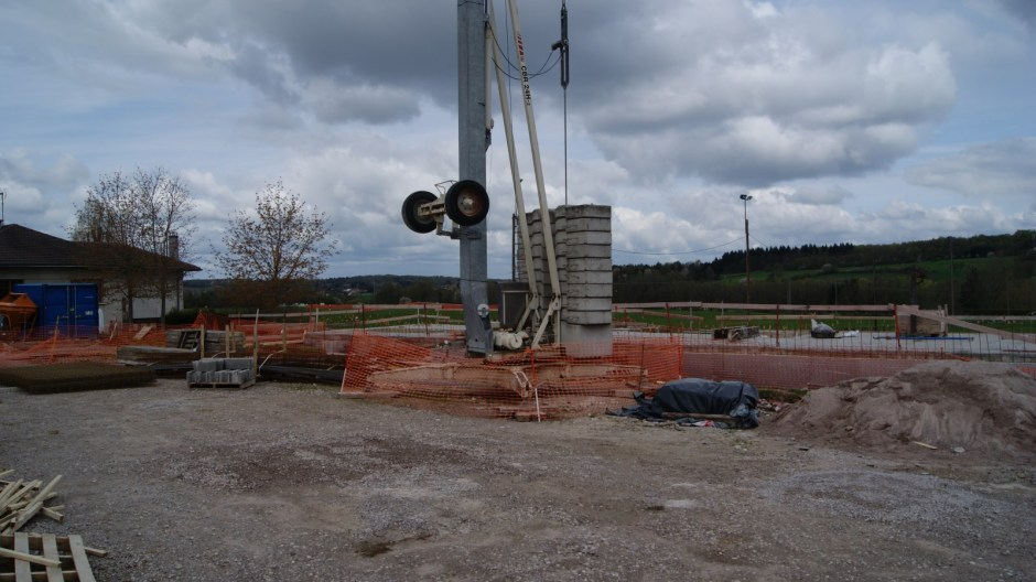 Construction d'une maison médicale à Deyvillers.