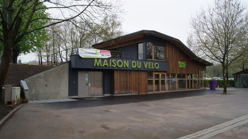 La Maison du Vélo d'Epinal.