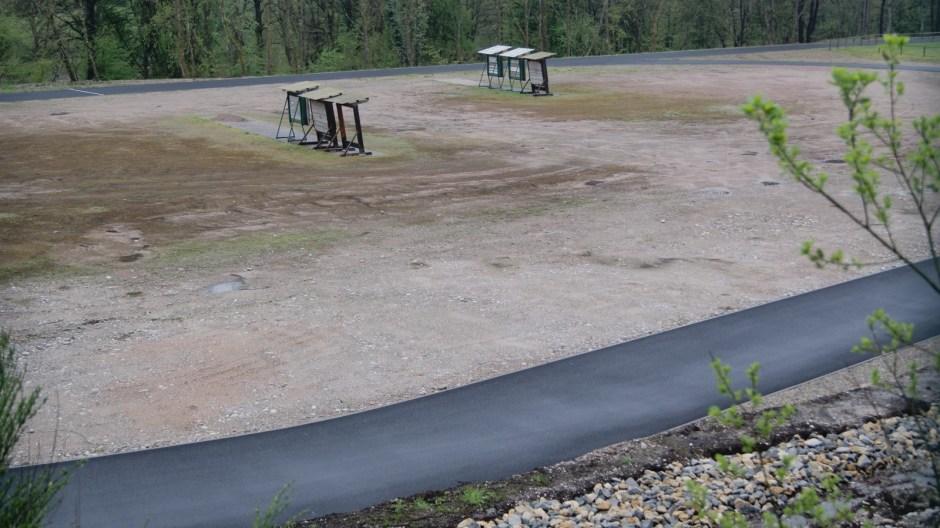 Nouvelle piste cycable dans la plaine de Soba.