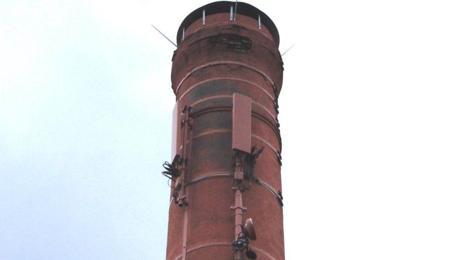 La cheminée de la ZAC de la Croisette.