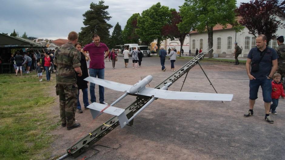 Portes Ouvertes à la caserne militaire du 170 RI d'Epinal.