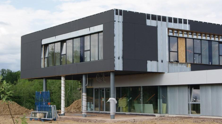 Construction d\'un nouveau bâtiment pour l\'entreprise In Extenso ...