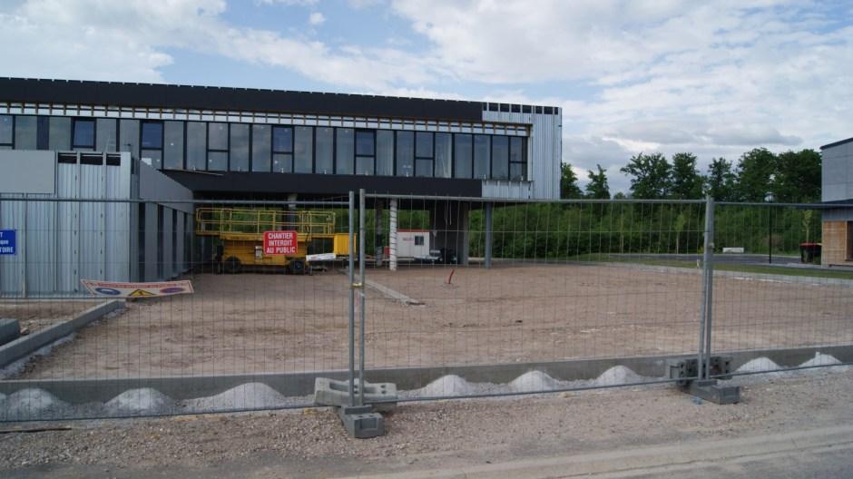 Les nouveaux bureaux de l'entreprise In Extenso à la Voivre.