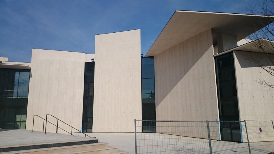 Le Centre International du Graphisme de Chaumont.