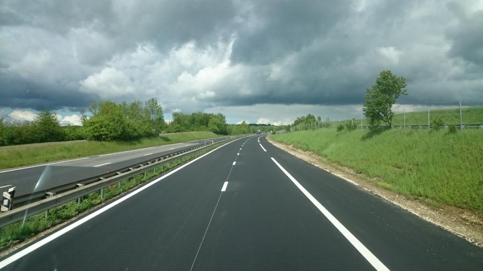 Achèvement des travaux sur la RN4 dans la Meuse.