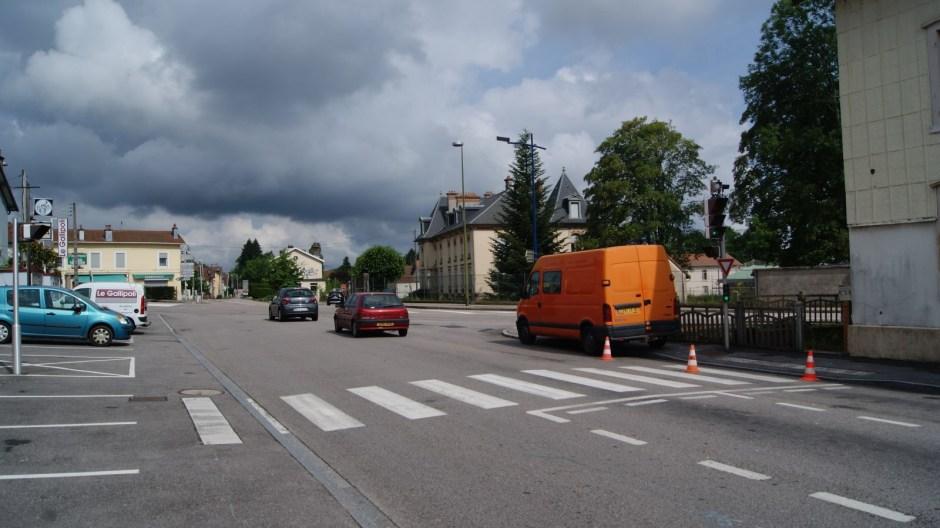 Travaux à venir au carrefour du Général Leclerc à Golbey.