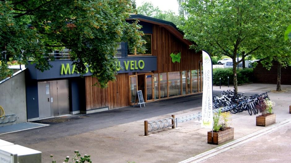 La Maison du Vélo au port d'Epinal.