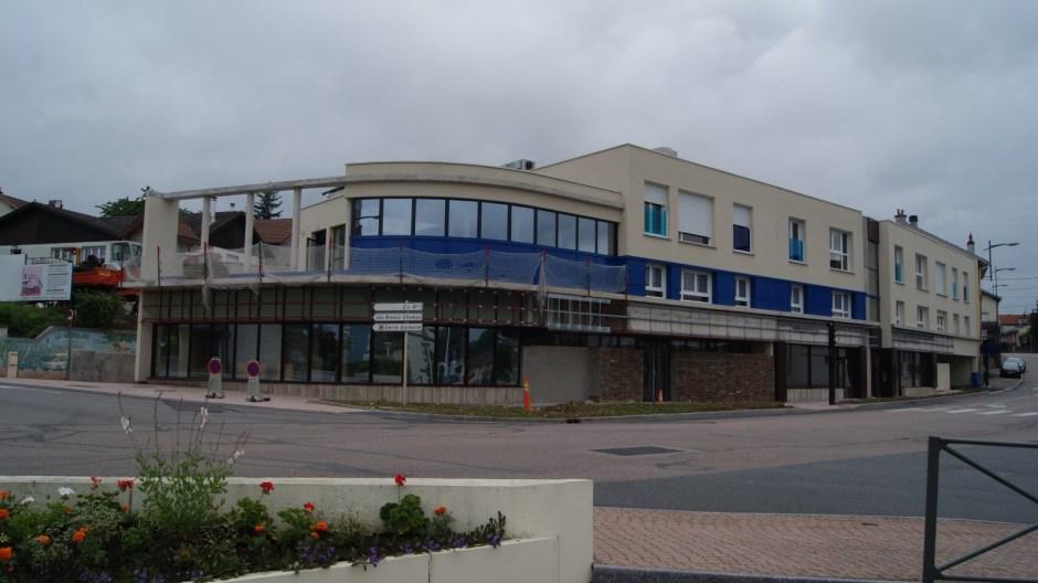 Nouvel immeuble au centre ville de Golbey.