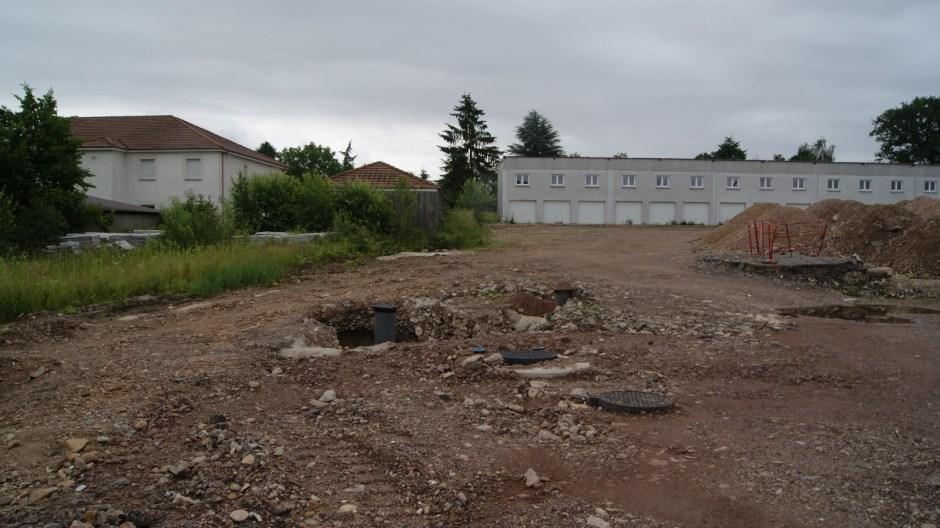 Nouveau lotissement à Chavelot.