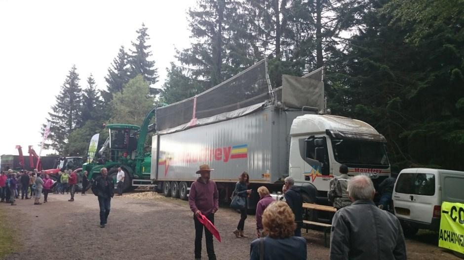 La fête du bois 2016 à Sapois.