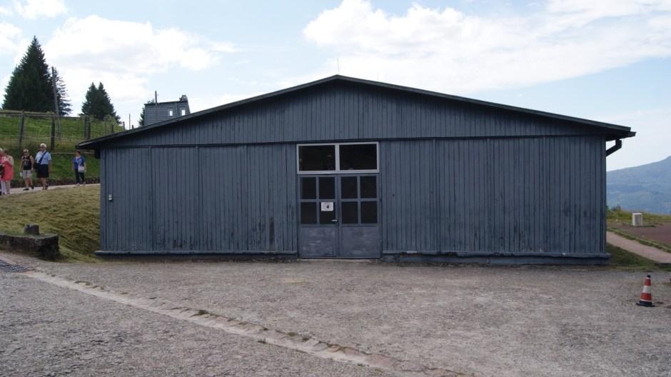 Le camp de concentration du Struthof.