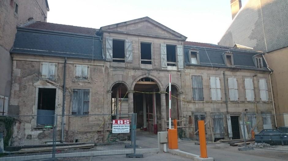 Réhabilitation de logements rue Aristide Briand à Epinal.