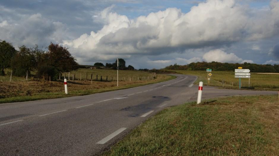 Travaux routiers sur la RD165.