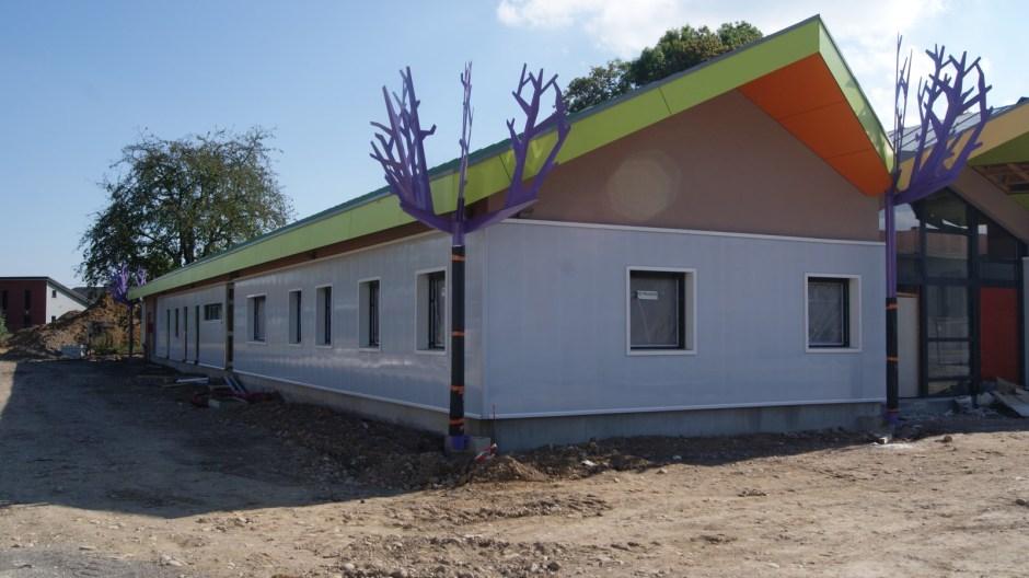 La nouvelle crèche de l'agglomération spinalienne à Golbey.