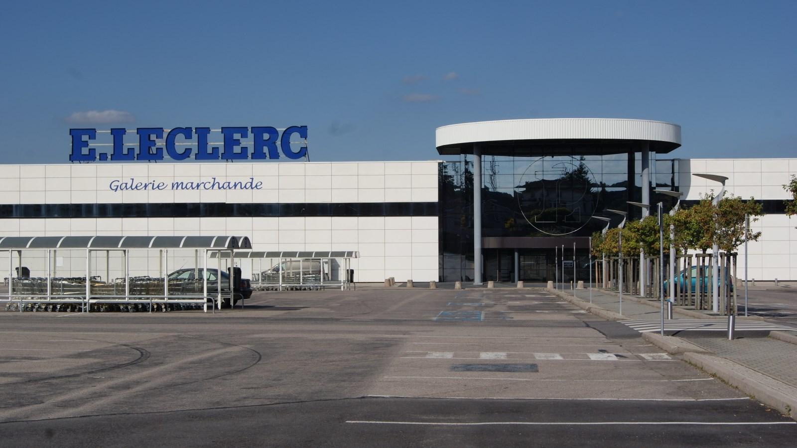 Le drive de l hypermarch leclerc de golbey pousse ses murs transvosges Leclerc drive vitry sur seine