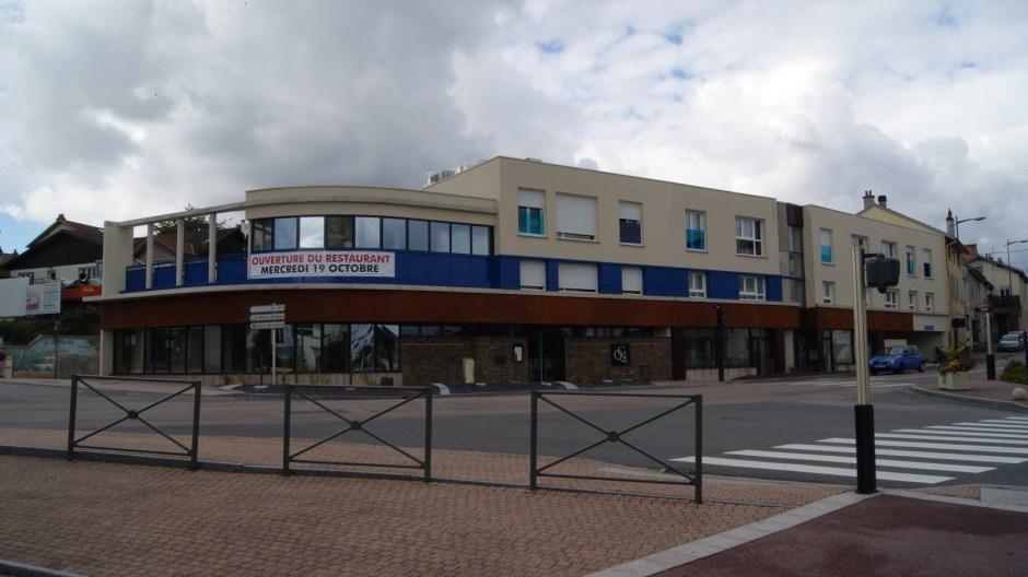 Nouvel immeuble au centre ville de Golbey - Chantier achevé.