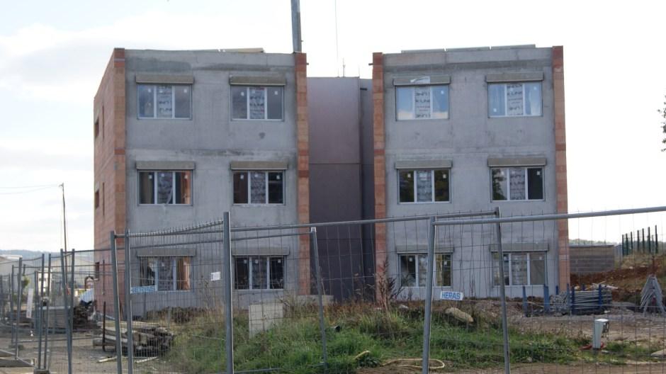 Nouveaux immeubles BBC dans le quartier résidentiel des Blanchamps à Golbey.