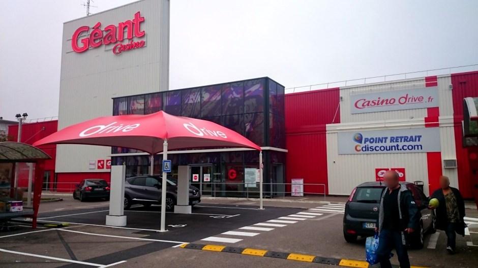 Hypermarché Géant Epinal.