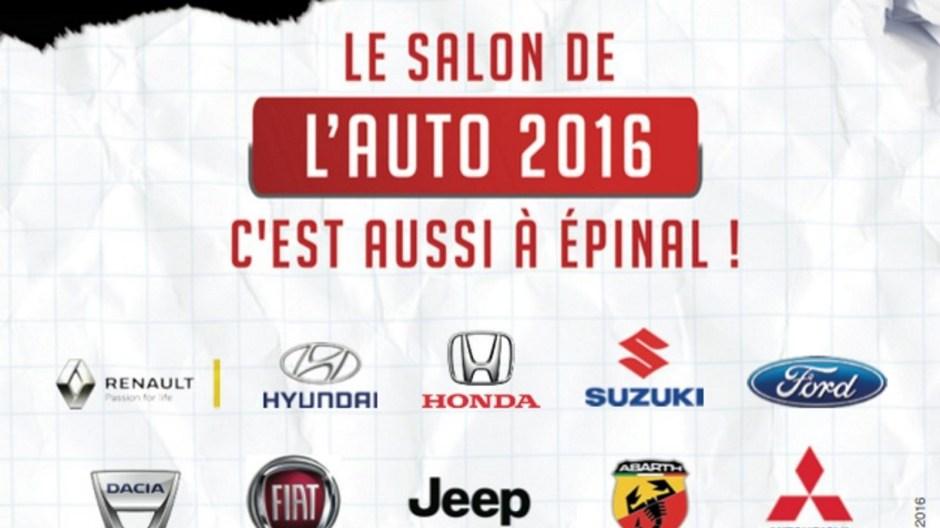 Salon automobile d'Epinal 2016