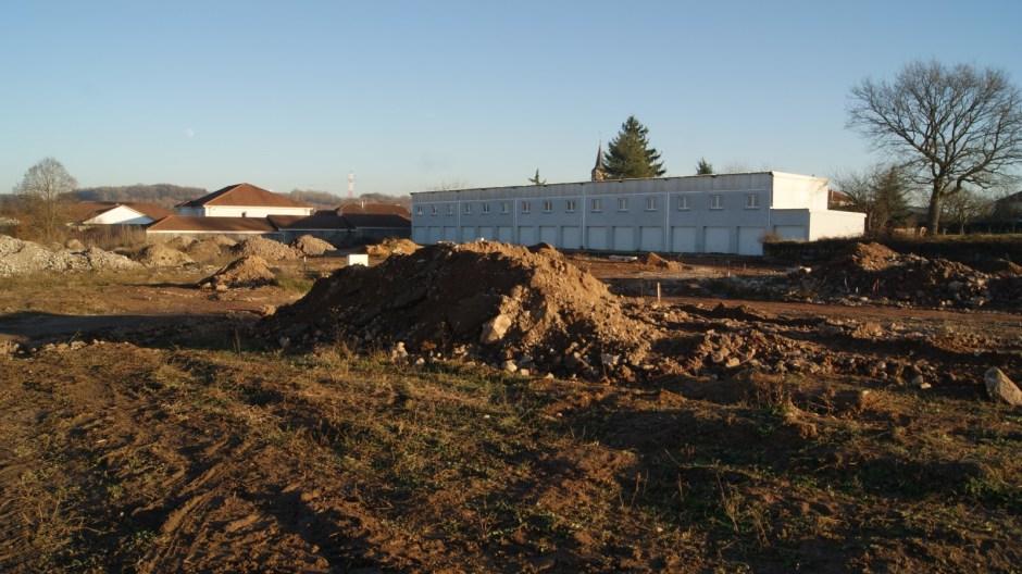 Aménagement d'un lotissement pavillonnaire à Chavelot.