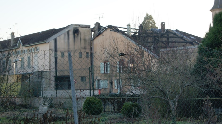 Grave incendie dans le centre ville de Thaon-les-Vosges.