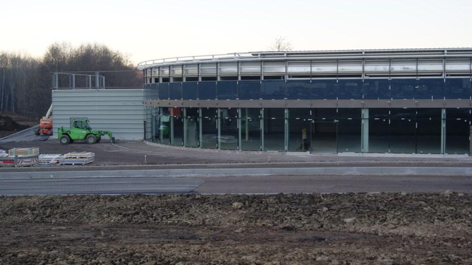 Nouvelles cellules commerciales à Golbey / Leclerc.