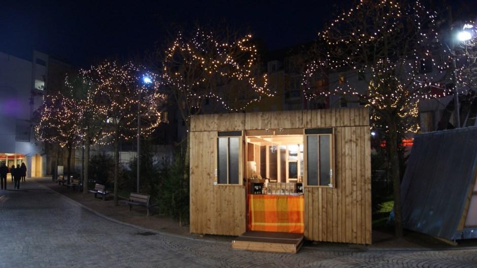 Le village de noël 2016 d'Epinal.