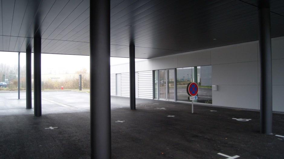 Le nouveau bâtiment de bureaux In Extenso à Epinal.