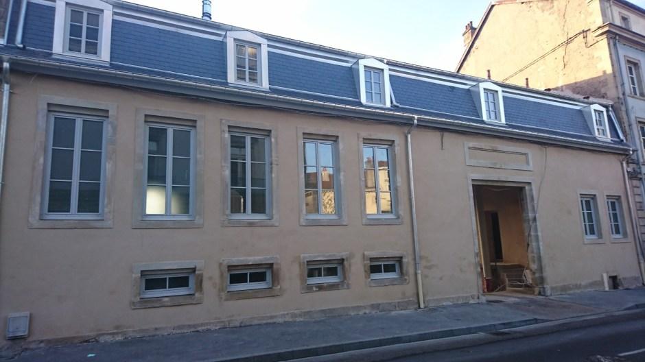 Aménagement de logements rue Aristide Briand à Epinal.