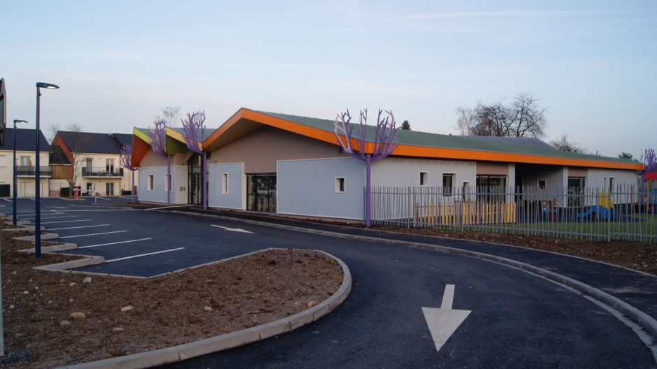 La nouvelle crèche de l'agglomération Spinalienne.