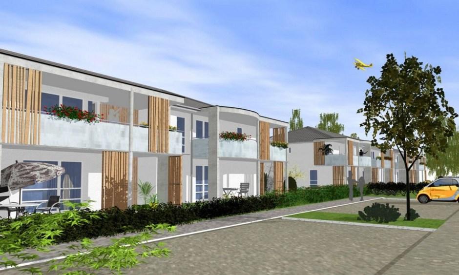 Nouveaux logements à Thaon-les-Vosges.